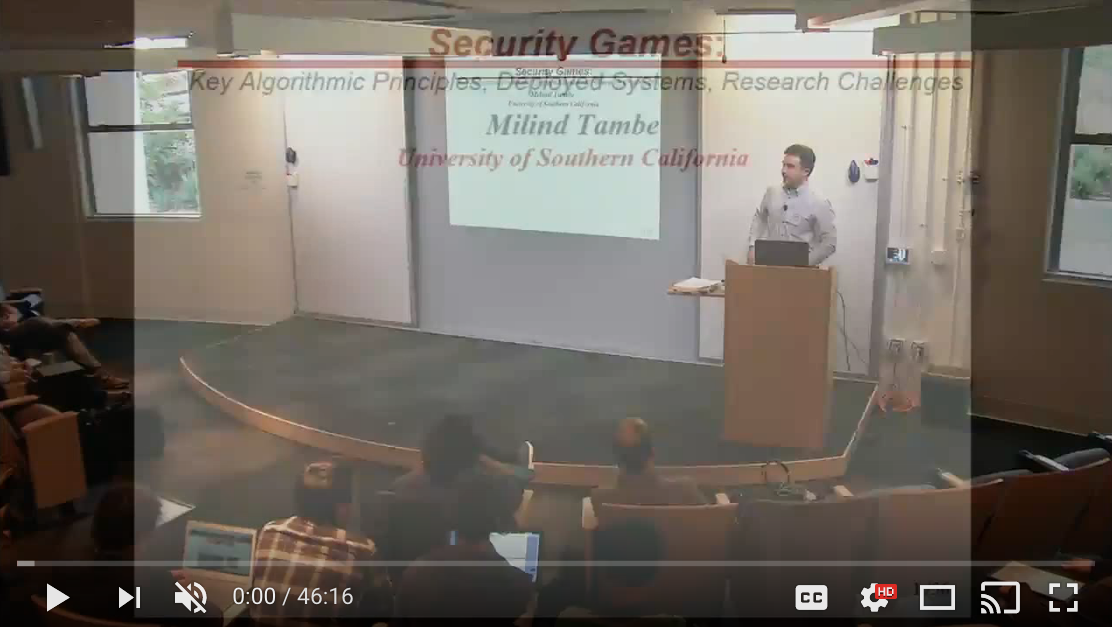 Security Games Video Image