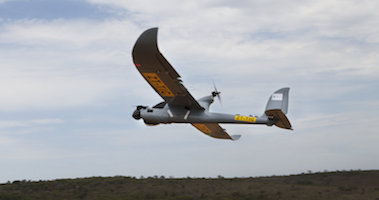 Image of unmanned flying vehicle